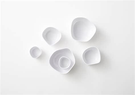 nendo design instagram pebble bowls by nendo for italesse