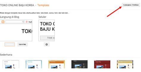 template toko online lengkap mengubah template toko online blogspot lengkap dengan