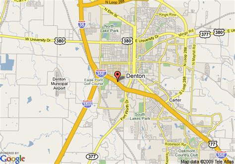 where is denton texas on a map map of comfort suites denton denton