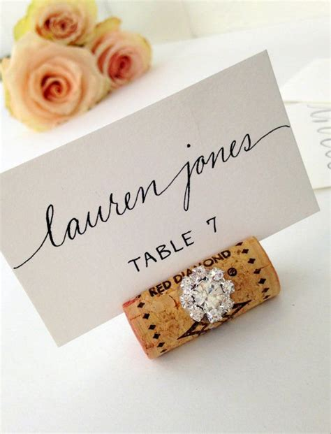 how to make event escort cards three variations kin diy best 25 cork place cards ideas on pinterest name cards