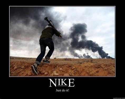 Nike Memes - nike just do it motivational poster