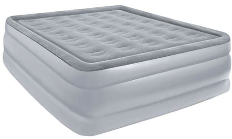 air bed full size pure comfort full size air mattress and pump raised full