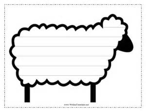 Free Printable Sheep Template by Free Printable Sheep Template Search Results New