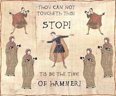 Bayeux Tapestry Meme - image 12743 medieval macros bayeux tapestry