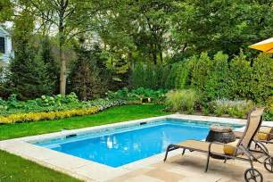 Small Backyard Inground Pool Design 23 Small Pool Ideas To Turn Backyards Into Relaxing Retreats