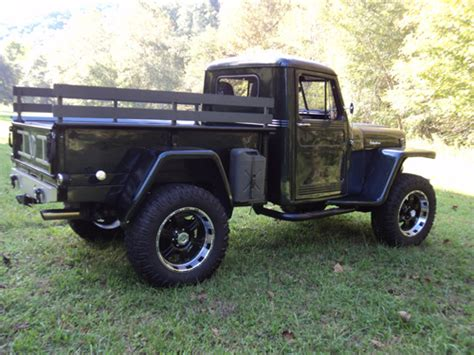 willys jeep pickup lifted edwin caudill