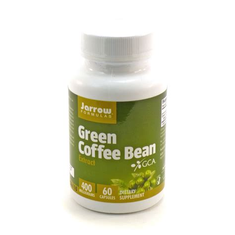Green Coffee Extract green coffee bean extract 400mg by jarrow 60 capsules