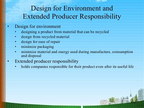 design for environment ppt product design ppt doms