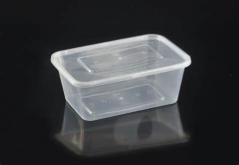 Container Thinwall Microwaveable 500ml 32oz 1000ml rectangular microwavable plastic container with lid plastic carry out container