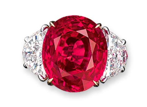 christie s sets a world record most expensive ruby