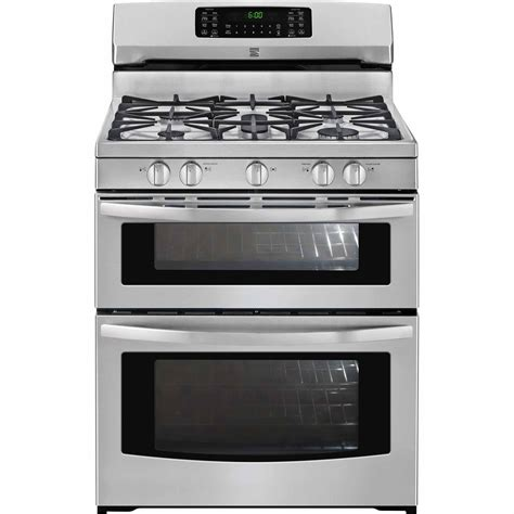 Oven Gas Stainless kenmore 78143 5 9 cu ft oven gas range stainless steel shop your way