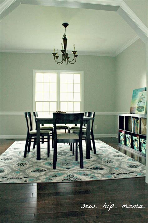 Dining Room With Teal Rug Pin By Kara Rogers On For The Home