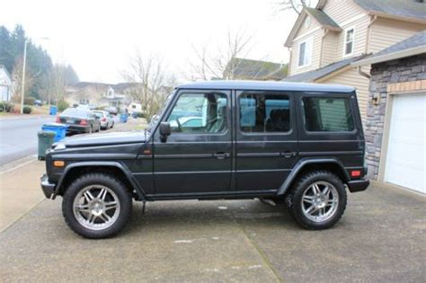 used mercedes g wagon find used 1995 mercedes benz g wagon g320 in portland