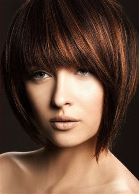 hairstyles with uneven bangs choppy bob hairstyles beautiful hairstyles