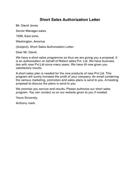 authorization letter format for insurance sales authorization letter sle edit fill sign
