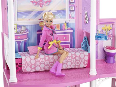 doll houses that fit barbies barbie 2 story beach house best collections by mattel on