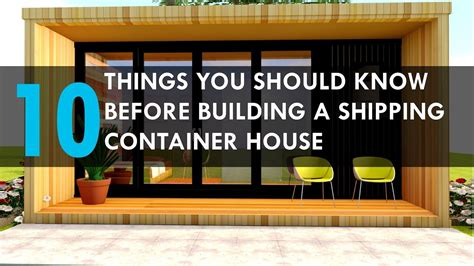 what to know when building a house 10 things you should know before building a shipping