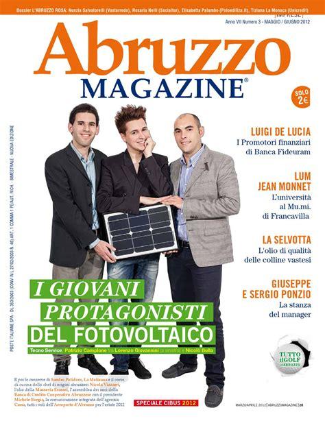 fideuram pescara abruzzo magazine maggio giugno 2012 by abruzzo magazine