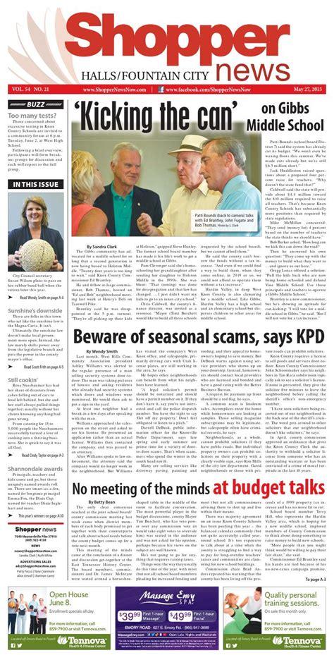 Shopping News by Halls City Shopper News 052715 By Shopper News