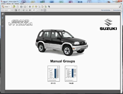 suzuki grand vitara 1998 2005 service repair manual download manu suzuki grand vitara 1998 2005 service manual
