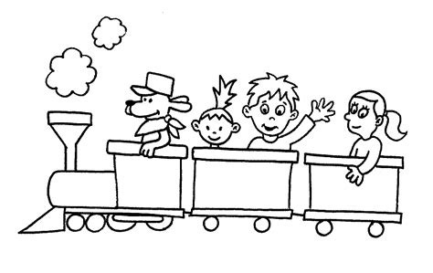 coloring page train engine free printable train coloring pages for kids