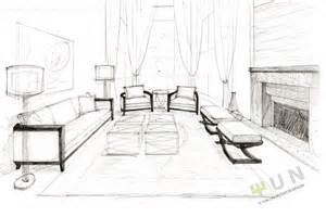 interior design sketches yi s fantasia sweet water project interior design living