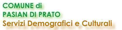 ufficio anagrafe prato comune di pasian di prato sito web ufficiale