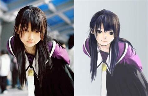 real girl  anime version picture  hinatahyuuga