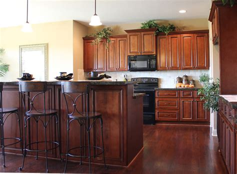 kansas city kitchen cabinets brindleton maple kitchen cabinets traditional kansas
