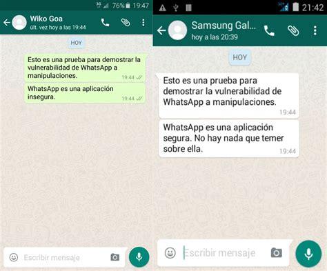 preguntas divertidas para tinder manipular mensajes de whatsapp sin dejar rastro es posible