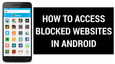 how to block content on android how to access blocked on android images how to guide and refrence