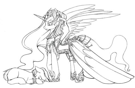 coloring page nightmare moon nightmare moon coloring pages coloring home