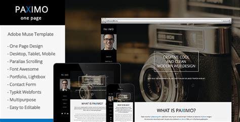 Free And Premium Responsive Adobe Muse Templates 56pixels Com Adobe Muse Portfolio Templates Free