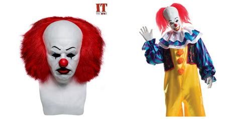 It Pennywise Clown Mask Costume halloweencostumes exclusive masks and costumes
