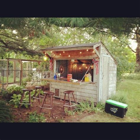 Shed Bar by Pub Sheds Are The Backyard Trend Portland