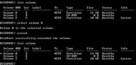 diskpart format boot partition using diskpart to create extend or delete a disk partition