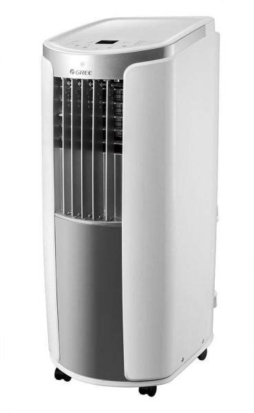 gree 12000 btu 1 ton portable air conditioner with rotary compressor compact design auto clean