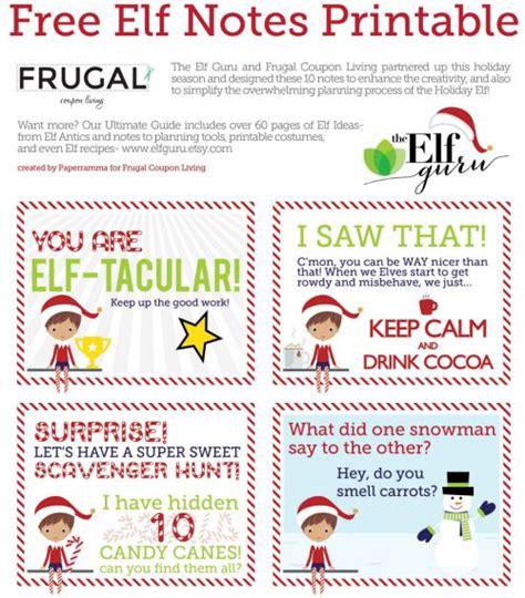 printable elf snot label 31 free christmas printables