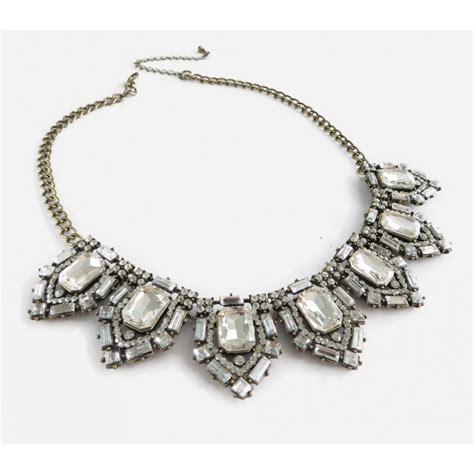 Vintage Glam Animal Necklaces by Silvio Deco Vintage Glam Bib Statement Bridal