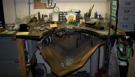 jewellers bench skin tools and equipment