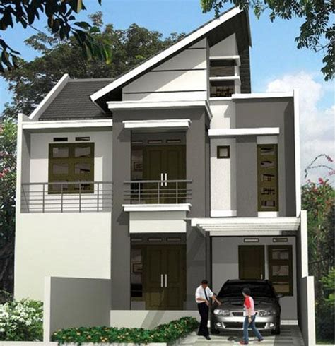 Enka 105 X 1 2 X 16 Batu Potong 4 model rumah minimalis 2 lantai 1 desain rumah minimalis