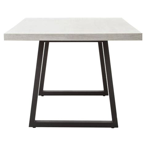 home design zymeth aluminum table l modern metal dining table home design