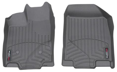 2014 lincoln mkx weathertech front auto floor mats gray