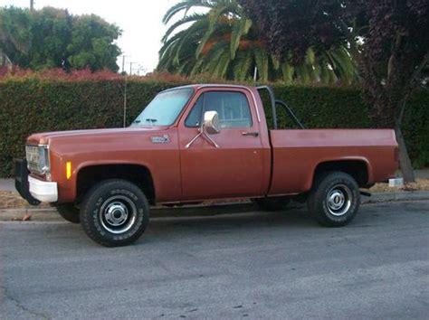 short bed truck cer buy new 1977 chevrolet short bed k 10 4x4 truck in santa