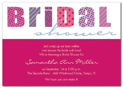 reasonable bridal shower invitations bridal shower invitations easyday