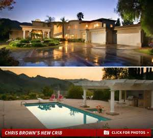chris brown s problem come on my property i
