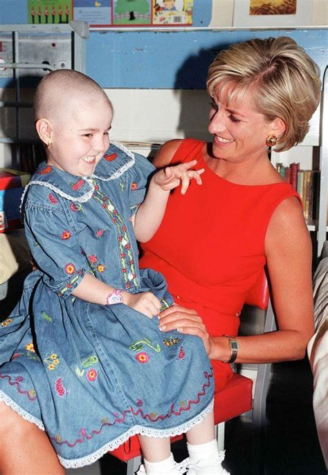 princess diana s children prince harry cradles terminally ill boy proves that