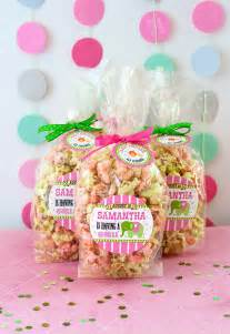 Decorated Mason Jars Circus Baby Shower Candy Popcorn Favors