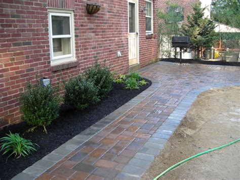 paver walkway with landscaping paver walkway pinterest