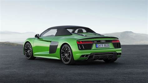 audi r8 average hold onto your ears audi r8 spyder v10 plus is here